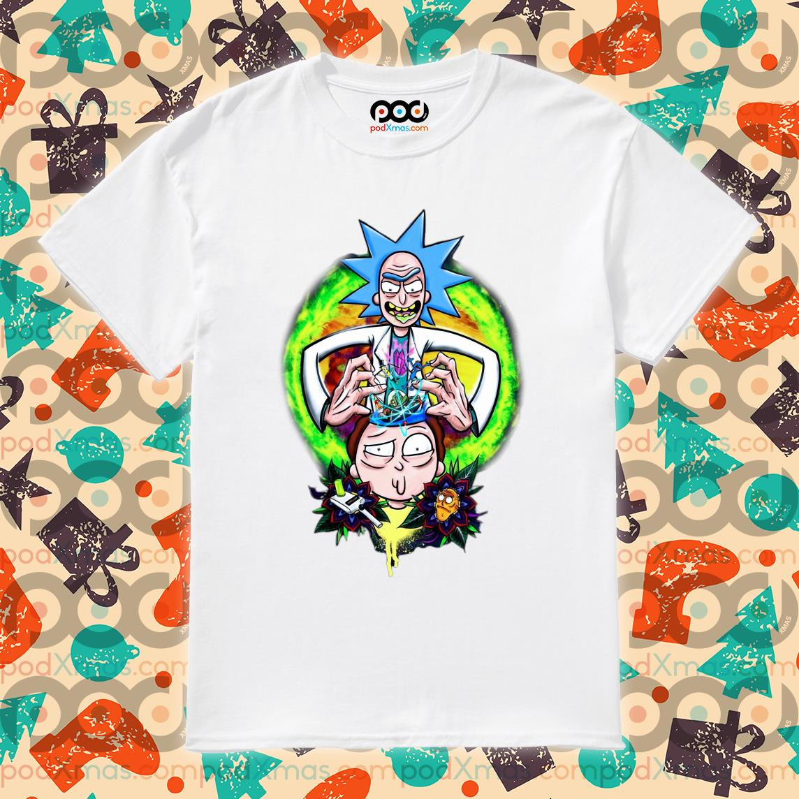 Rick and Morty CRAZY DOCTER shirt