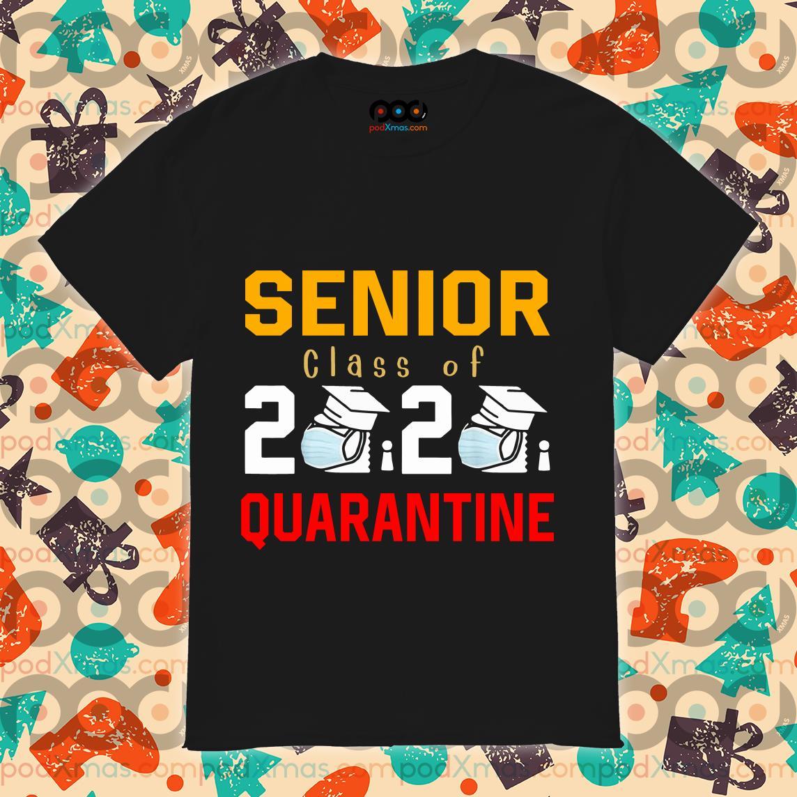 Senior Class of 2020 Quarantine Graduation Shirt Toilet Paper T-Shirt