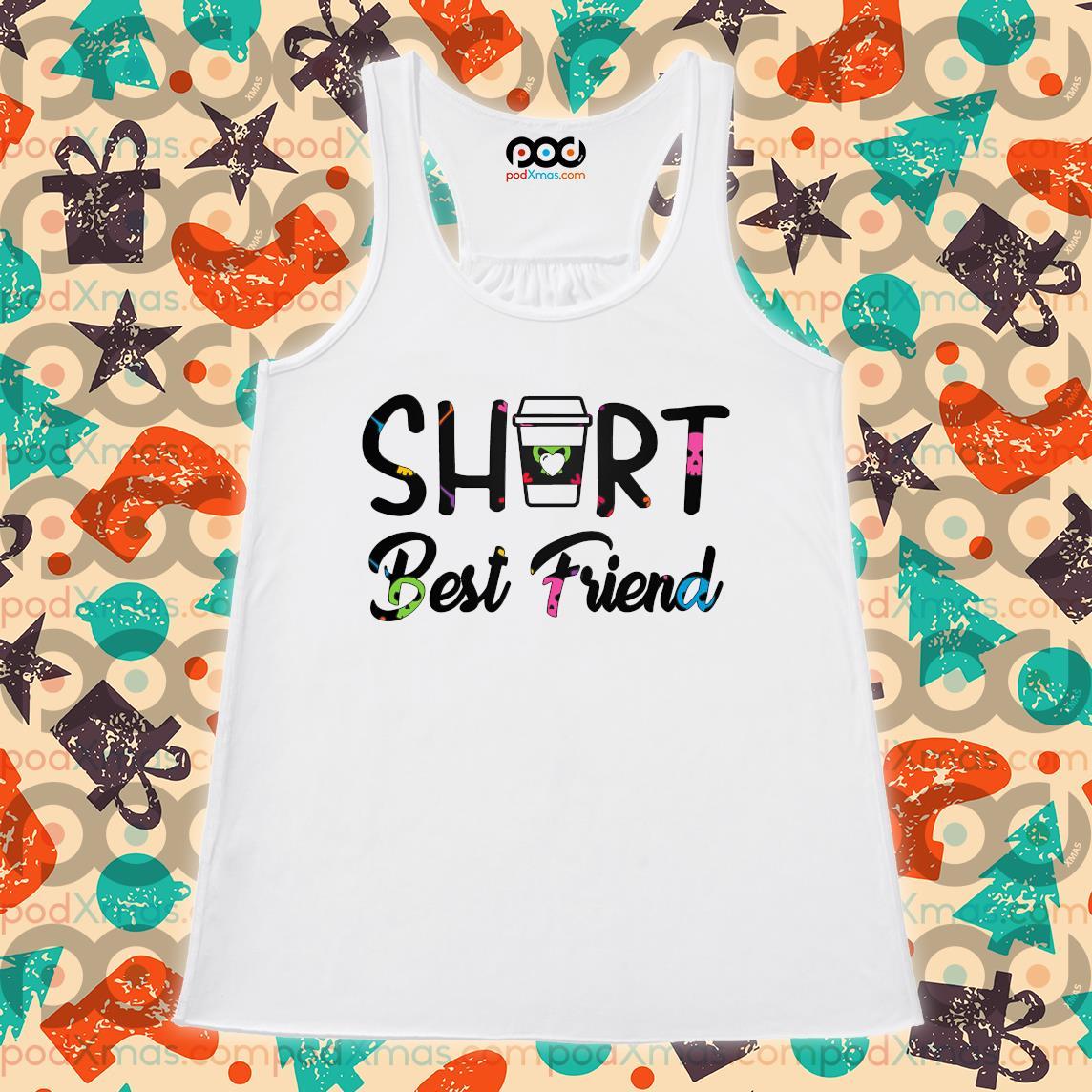 Short Best Friend s Flowy tank PODxmas trang