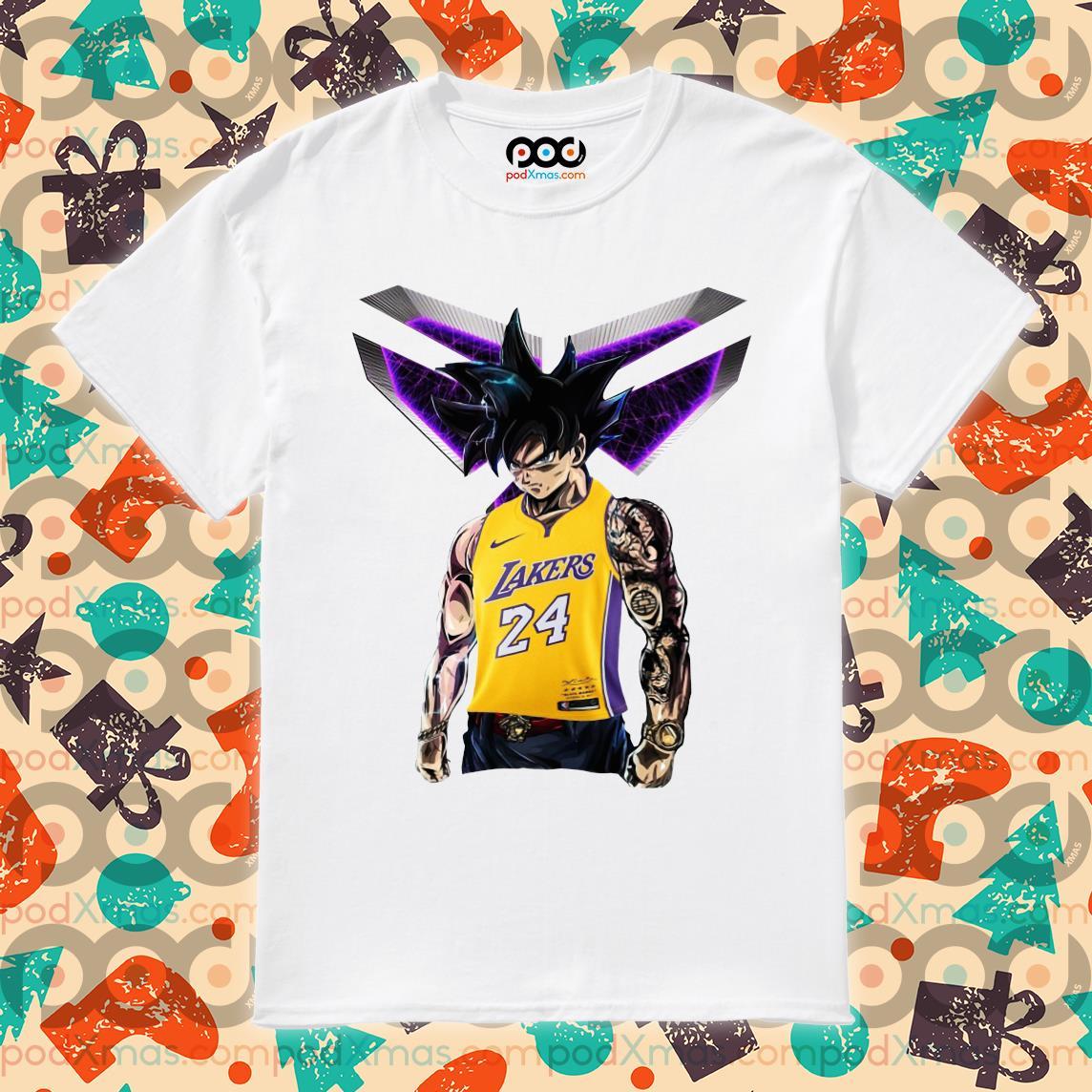 Songoku Kobe Bryant Logo Shirt