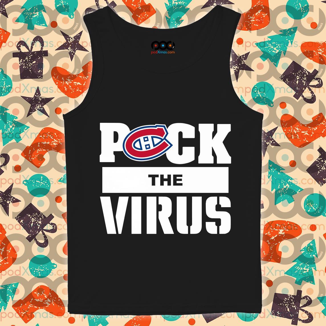 Montreal Canadiens Puck the virus tank top