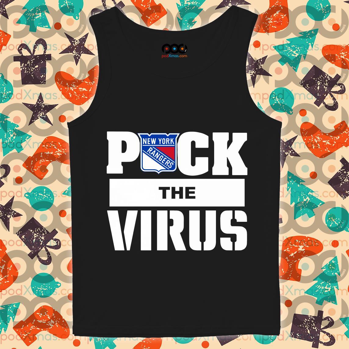New York Rangers Puck the virus tank top