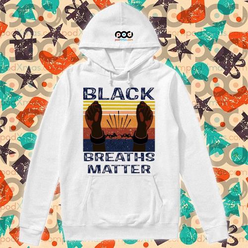 Black Breaths Matter Vintage s hoodie