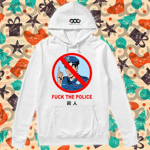 Fuck the Police Justice for Floyd T-Shirt hoodie