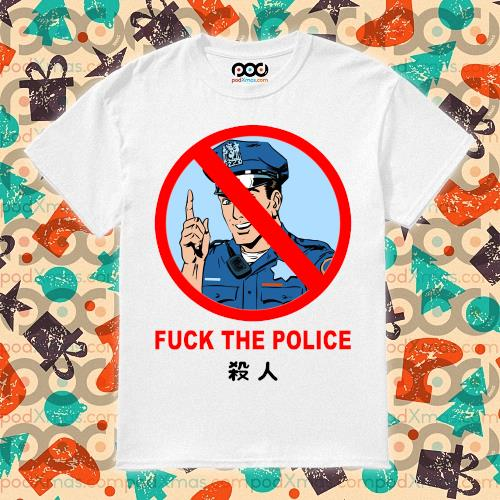 Fuck the Police Justice for Floyd T-Shirt