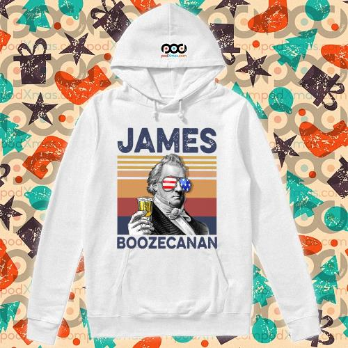 James Buchanan Boozecan Drink Drink 4th of July vintage T-s hoodie
