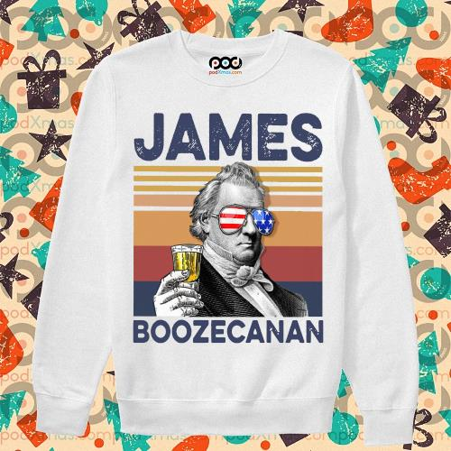 James Buchanan Boozecan Drink Drink 4th of July vintage T-s sweater