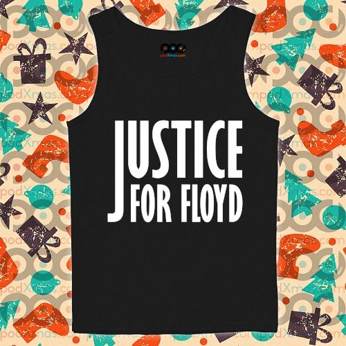 Justice for Floyd RIP s tank-top