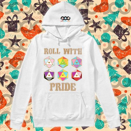 LGBT Roll with pride T-s hoodie