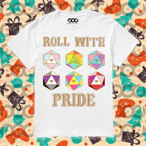 LGBT Roll with pride T-shirt