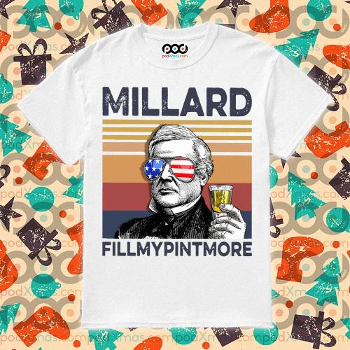 Millard Fillmypintmore Drink Drink 4th of July vintage T-shirt