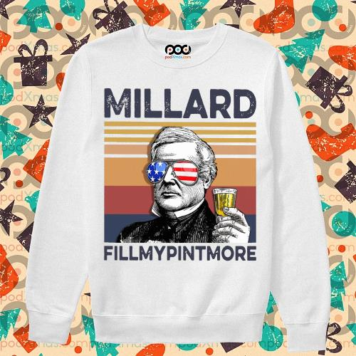 Millard Fillmypintmore Drink Drink 4th of July vintage T-s sweater