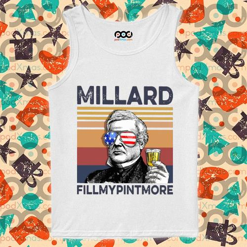 Millard Fillmypintmore Drink Drink 4th of July vintage T-s tank-top