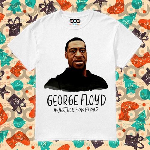 RIP George Floyd #justiceforFloyd t-shirt