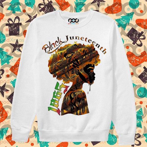 Girl Black Juneteenth since 1865 s sweater