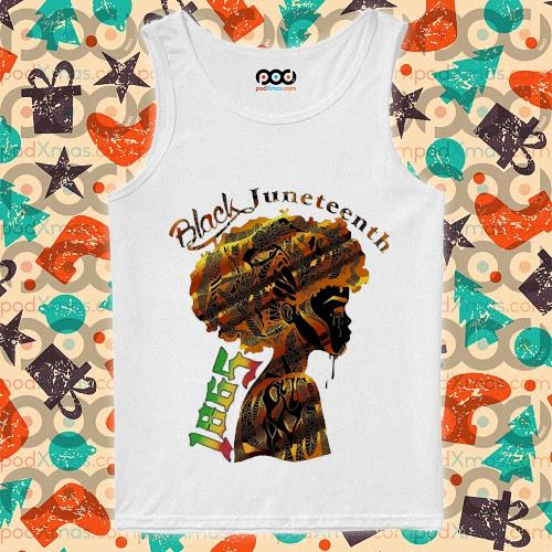 Girl Black Juneteenth since 1865 s tank-top