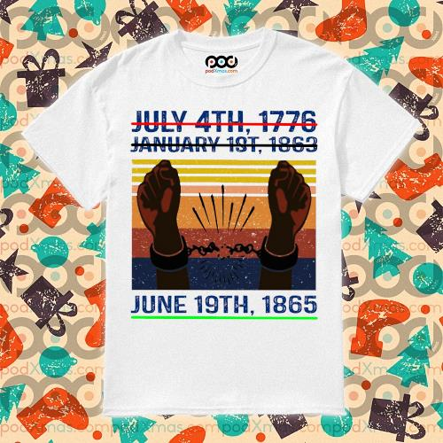 June 19th 1865 Juneteenth shirt