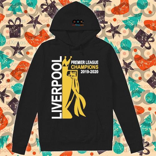 Liverpool premier league champion 2019-2020 s hoodie