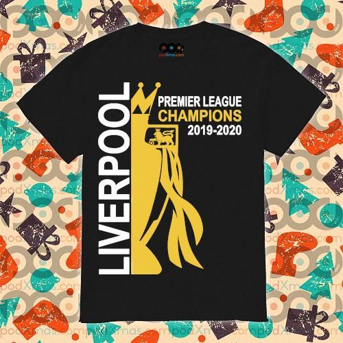 Liverpool premier league champion 2019-2020 shirt