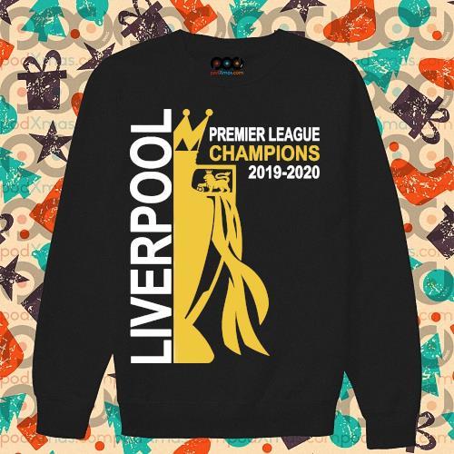Liverpool premier league champion 2019-2020 s sweater