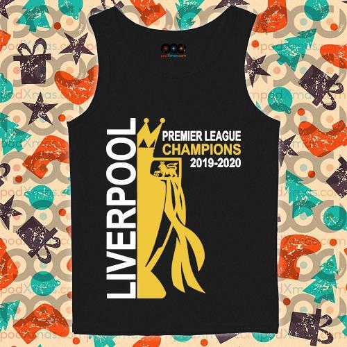 Liverpool premier league champion 2019-2020 s tank-top