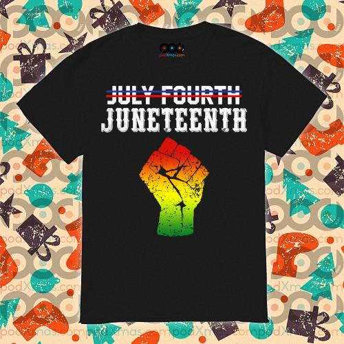 Not July Fourth Juneteenth Since 1865 Long Sleeve
