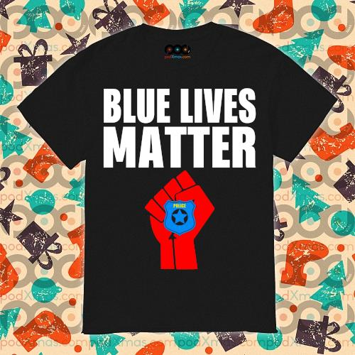Police Blue Lives Matter shirt
