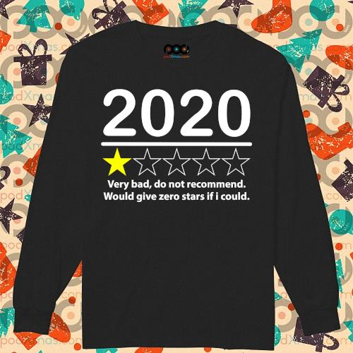 2020 very bad would not recommend would give zero stars if I could s longsleeved