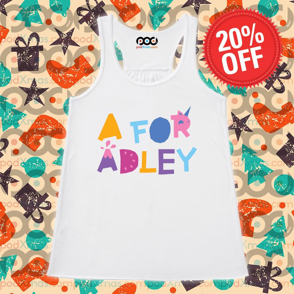 A for Adley s Flowy tank PODxmas trang