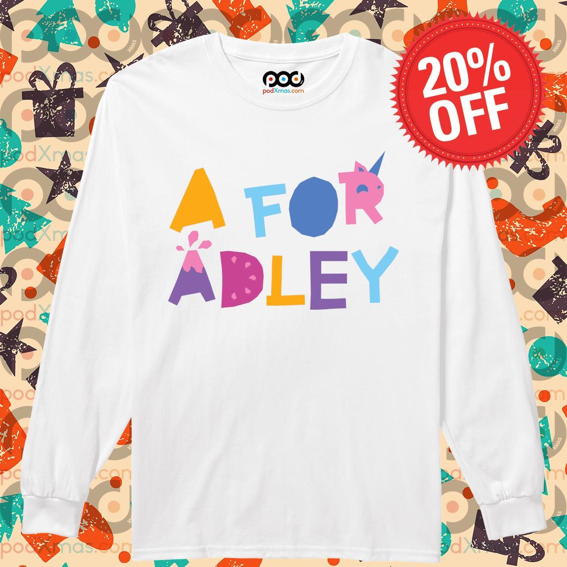 A for Adley s Longsleeved PODxmas trang