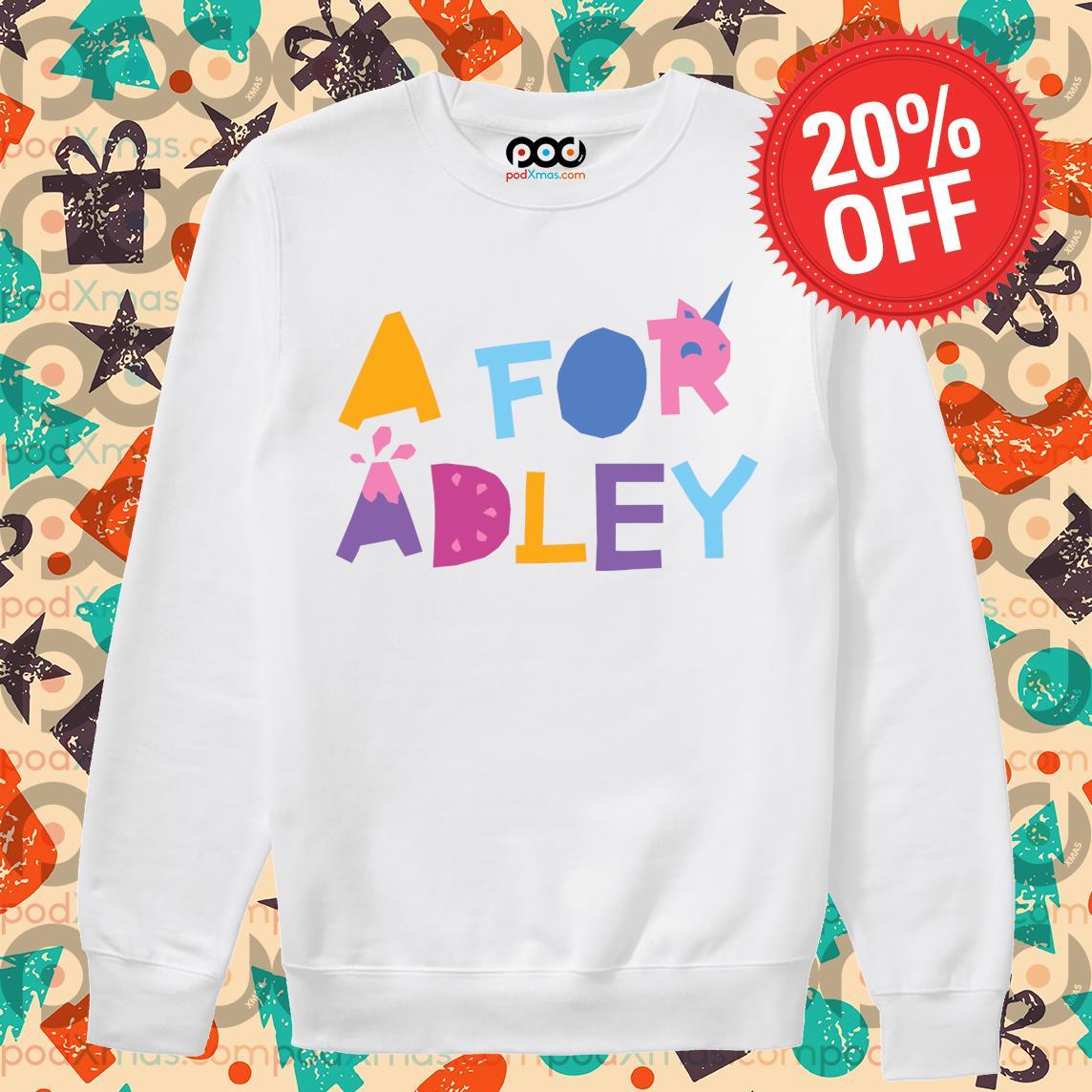 A for Adley s Sweater PODxmas trang