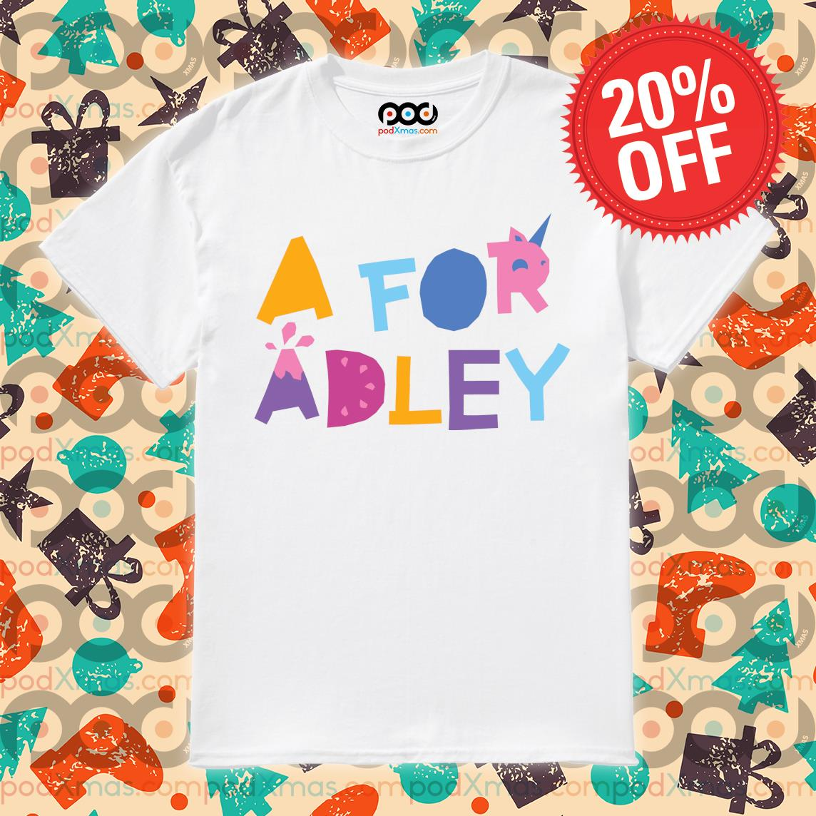 A for Adley shirt