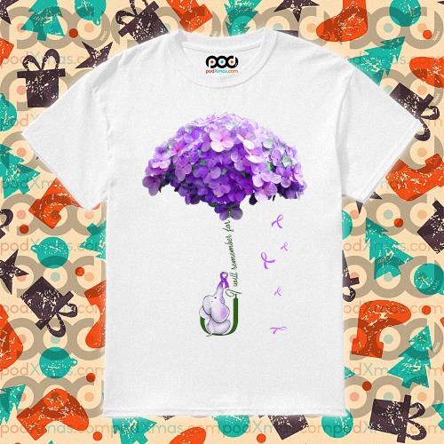 Elephant Umbrella Alzheimer's I will remember for you shirt