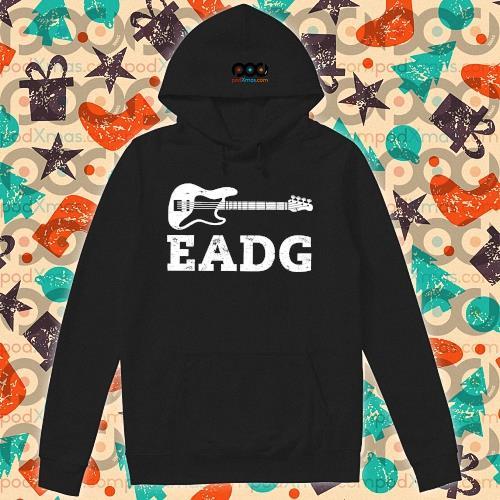Guitar Bass Eadg s hoodie
