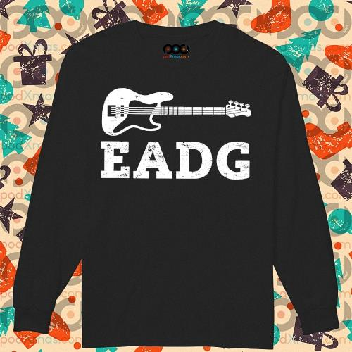 Guitar Bass Eadg s longsleeved