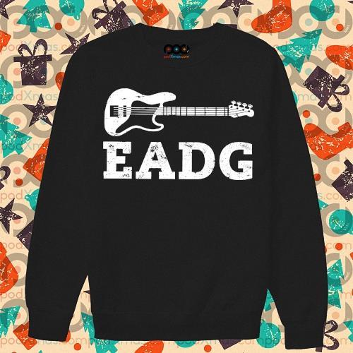 Guitar Bass Eadg s sweater