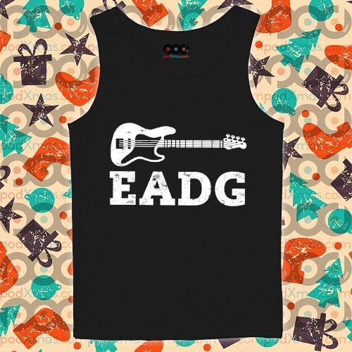 Guitar Bass Eadg s tank-top
