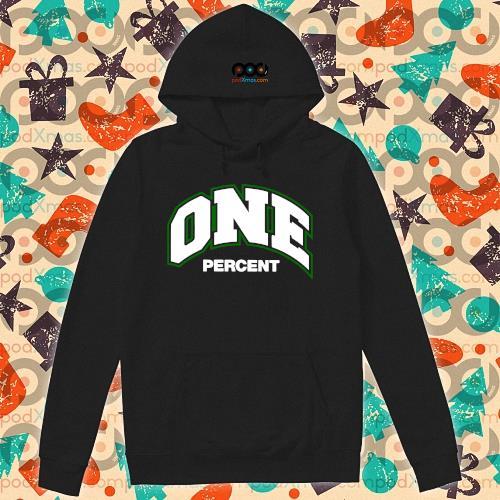 ONE percent s hoodie