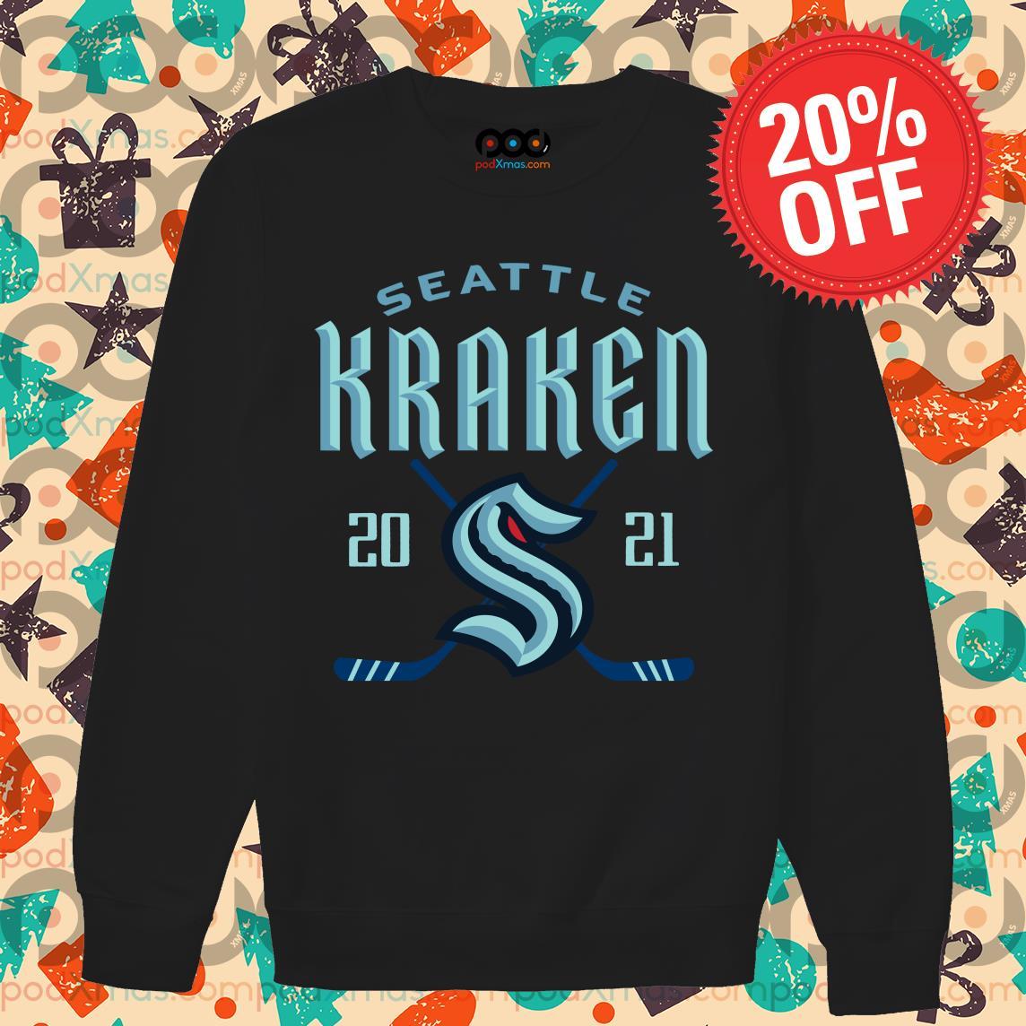 Seattle Kraken 2020 s Sweater PODxmas den