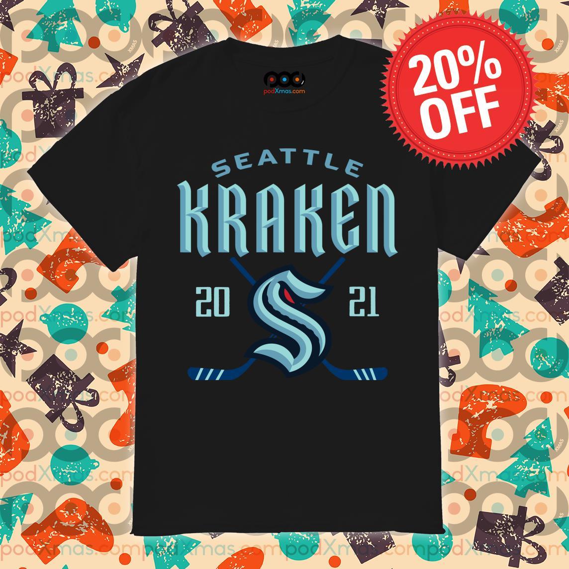 Seattle Kraken 2020 shirt