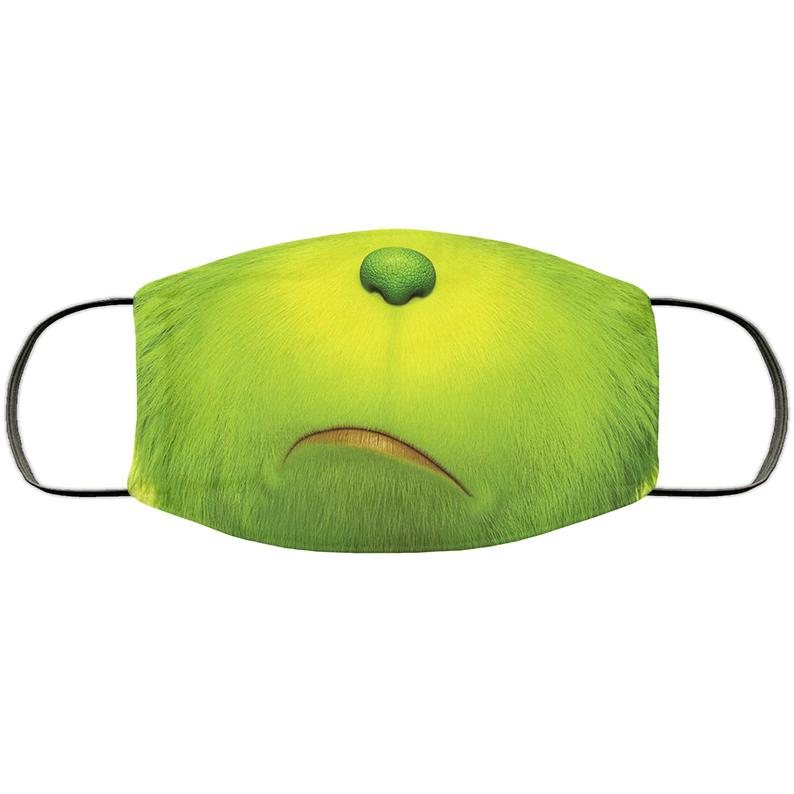 The Grinch Handmade Face Mask made in the USA 1