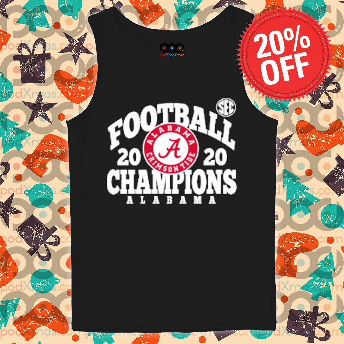 Football 2020 Champion ALabama s Tank top PODxmas den