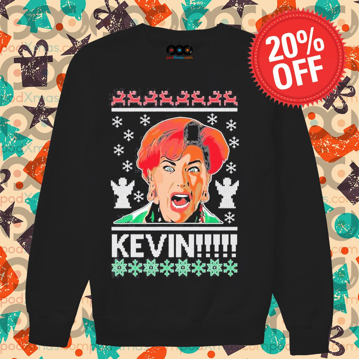 Home alone kevin ugly Christmas s Sweater PODxmas den