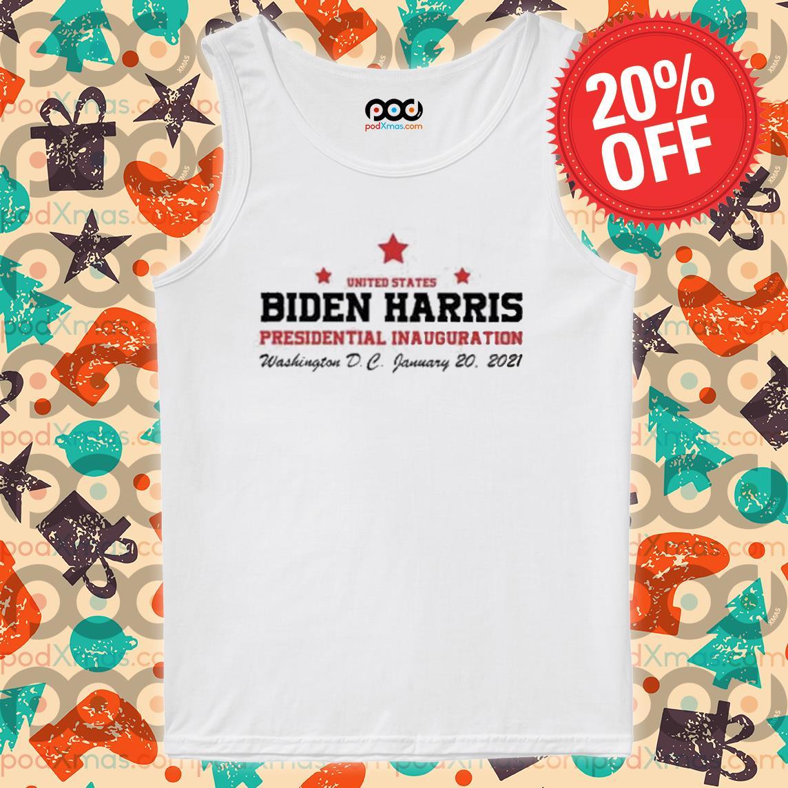 United States Biden Harris Presidential Inauguration Washington D C January 20 2021 s Tank top PODxmas trang